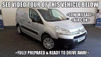 USED 2015 15 CITROEN BERLINGO 1.6 HDi L1 625 Enterprise Panel Van 5dr +AIR CON+3 SEATS+
