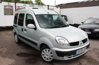 USED 2008 08 RENAULT KANGOO 1.5 EXPRESSION DCI WHEELCHAIR ADAPTED 5d 84 BHP