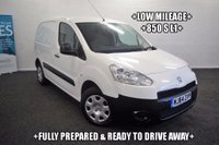 USED 2014 64 PEUGEOT PARTNER 1.6 HDi S L1 850 4dr +LOW MILEAGE+850 S L1+