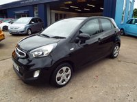 USED 2012 12 KIA PICANTO 1.0 1 AIR 5d 68 BHP FULL DEALER SERVICE HISTORY