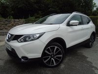 USED 2014 14 NISSAN QASHQAI 1.5 DCI TEKNA 5d 108 BHP ** FMDSH + TOP OF THE RANGE + 1 OWNER **