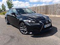 2014 LEXUS IS 2.5 300H F SPORT 4d AUTO 220 BHP £17885.00