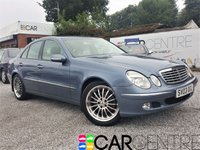 USED 2003 03 MERCEDES-BENZ E CLASS 3.2 E320 ELEGANCE 4d AUTO 224 BHP PART EX CLEARANCE - TRADE SALE