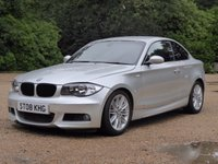 USED 2008 08 BMW 1 SERIES 2.0 123D M SPORT 2d 202 BHP
