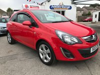 USED 2013 13 VAUXHALL CORSA 1.2 SXI 3d 83 BHP Only 45908 miles, 12 Months MOT & service inc