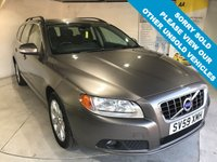 USED 2009 59 VOLVO V70 2.0 D SE 5d 136 BHP Full service history,  T-Tec and Cloth upholstery, Electric/memory driver's seat, Hydraulic retractable dog guard, 17-inch alloy wheels