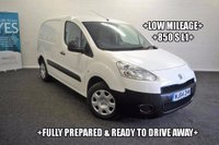 USED 2014 64 PEUGEOT PARTNER  1.6 HDi S L1 850 4dr +850 S L1+LOW MILEAGE+