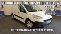 USED 2014 14 PEUGEOT PARTNER 1.6 HDi Professional L1 625 5dr +AIR CON+3 SEATS+