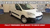 USED 2014 14 PEUGEOT PARTNER 1.6 HDi Professional 5dr, *Drive Away Today* Air Con, Bluetooth, 3 Seats +AIR CON+3 SEATS+