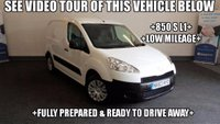 USED 2013 63 PEUGEOT PARTNER 1.6 HDi S L1 850 4dr +850 S L1+LOW MILEAGE+