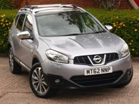 USED 2012 62 NISSAN QASHQAI+2 1.6 TEKNA IS PLUS 2 DCI 4WDS/S 5d 130 BHP NEW 12 MONTH MOT &4 NEW TYRES!!