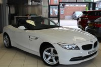 USED 2014 14 BMW Z4 2.0 Z4 SDRIVE18I ROADSTER 2d 155 BHP BMW SERVICE HISTORY + FULL BLACK LEATHER SEATS + DAB RADIO + BLOW BY HEATER + XENONS + 17 INCH ALLOYS