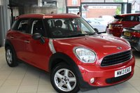 USED 2013 13 MINI COUNTRYMAN 1.6 ONE 5d 98 BHP FULL MINI SERVICE HISTORY + BLUETOOTH + DAB RADIO + PEPPER PACK 2 + 5 SEATER + AIR CONDITIONING + REAR PARKING SENSORS