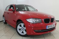USED 2008 58 BMW 1 SERIES 2.0 118D SE 5DR 141 BHP SERVICE HISTORY + AIR CONDITIONING + PARKING SENSOR + MULTI FUNCTION WHEEL + RADIO/CD + ALLOY WHEELS
