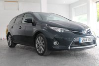 2014 TOYOTA AURIS 1.8 VVT-I EXCEL 5d AUTO 98 BHP £11500.00