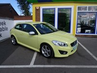 USED 2012 12 VOLVO C30 2.0 D3 R-DESIGN 3d AUTO 148 BHP 1 OWNER... FULL SERVICE HISTORY... JUST ARRIVED