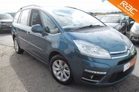 USED 2012 12 CITROEN C4 PICASSO 1.6 GRAND VTR PLUS HDI 5d 110 BHP LOW MILEAGE 7 SEATER