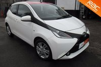 USED 2014 14 TOYOTA AYGO 1.0 VVT-I X-PRESSION 5d 69 BHP EXCELLENT VALUE,LOW MILEAGE,FREE ROAD TAX.
