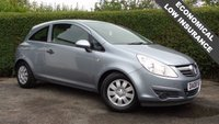 USED 2008 08 VAUXHALL CORSA 1.2 LIFE 16V 3d 80 BHP, MANUAL, PETROL, STACKS OF RECIEPTS 6 Month PREMIUM Cover Warrantry - 12 Month MOT (No Advs)
