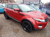 USED 2011 61 LAND ROVER RANGE ROVER EVOQUE 2.2 SD4 PURE TECH 5d 190 BHP SAT NAV, PAN ROOF, LEATHER, HEATED SEATS, F.S.H