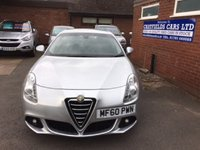 USED 2010 60 ALFA ROMEO GIULIETTA 1.4 TB MultiAir 170bhp Lusso 5dr 6 STAMPS, 2 OWNERS