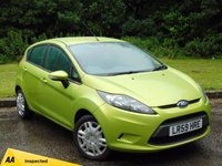 USED 2009 59 FORD FIESTA 1.2 STYLE PLUS 5d  FULL SERVICE HISTORY & 128 POINT AA INSPECTION