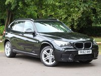 USED 2012 62 BMW X1 2.0 XDRIVE18D M SPORT 5dr AUTO £213 PCM With £1249 Deposit