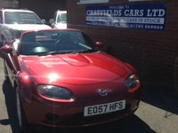 USED 2007 57 MAZDA MX-5 1.8 ICON 2d 125 BHP CABRIOLET CONVERTIBLE
