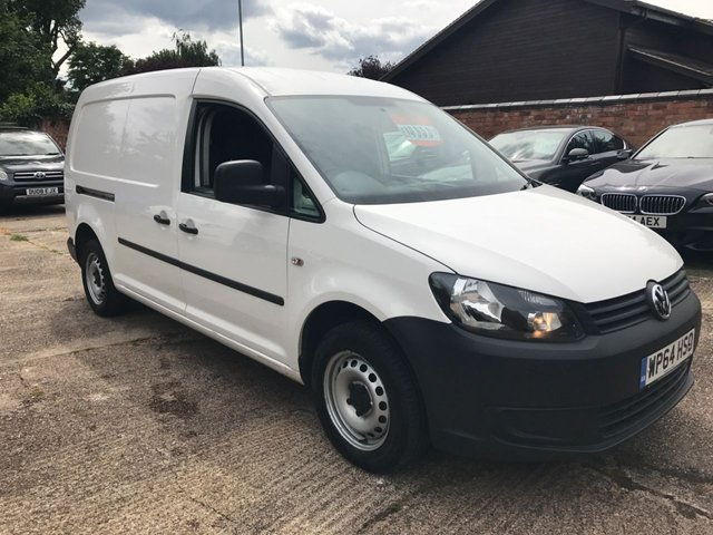 2014 64 VOLKSWAGEN CADDY MAXI 1.6 C20 TDI STARTLINE BLUEMOTION TECHNOLOGY 101 BHP