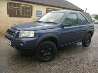 USED 2005 05 LAND ROVER FREELANDER 2.0 TD4 COMMERCIAL SWB FACELIFT 110 BHP