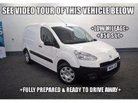 USED 2014 14 PEUGEOT PARTNER 1.6 HDi S L1 850 4dr +LOW MILEAGE+850 S L1+