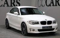 USED 2012 61 BMW 1 SERIES 2.0 118D SPORT 2d 141 BHP 18 INCH ALLOYS £30 ROAD TAX
