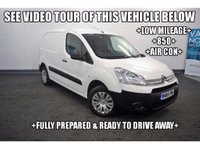 USED 2015 64 CITROEN BERLINGO 1.6 HDi L1 850 Enterprise Panel Van 5dr +LOW MILEAGE+850+AIR CON+