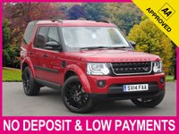 USED 2014 14 LAND ROVER DISCOVERY 4 3.0 SDV6 HSE BLACK PACK AUTO 5DR BLACK DESIGN PACK SAT NAV PAN ROOF LEATHER REV CAM