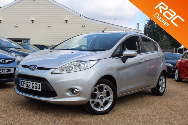 View our 2012 62 FORD FIESTA 1.2 ZETEC 5d 81 BHP