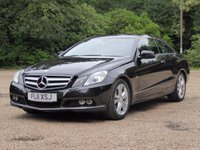 2011 MERCEDES-BENZ E CLASS 1.8 E250 CGI BLUEEFFICIENCY SE 2d AUTO 204 BHP £11000.00
