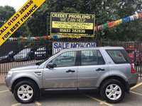 USED 2012 12 LAND ROVER FREELANDER 2.2 TD4 GS 5d 150 BHP SERVICE HISTORY, 2 OWNERS, NT03AWT INCLUDED, STUNNING ORKNEY GREY METALLIC PAINT, BLACK LAND ROVER CLOTH INTERIOR, REAR PARKING AIDS, ALLOY WHEELS, DETACHABLE TOW BAR, AIR CON, CD PLAYER,