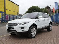 "USED 2013 63 LAND ROVER RANGE ROVER EVOQUE 2.2 SD4 PURE TECH 5d £7,000 WORTH OF OPTIONS ~ PANORAMIC ROOF ~ TECH PACK ~ 19"" ALLOY WHEELS ~ MERIDAN SOUNDS ~ PARK ASSIST PACK ~ TOW PACK ~ FULL LAND ROVER HISTORY"