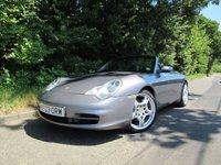 USED 2003 03 PORSCHE 911 3.6 CARRERA 4 TIPTRONIC S CONVERTIBLE 2d AUTO 316 BHP