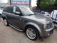 USED 2011 11 LAND ROVER RANGE ROVER SPORT 3.0 TDV6 HSE 5d AUTO 245 BHP 1 OWNER FROM NEW, F.L.R.S.H, LEATHER INTERIOR, HEATED SEATS, BLUETOOTH, SAT NAV