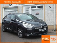 USED 2013 63 CITROEN DS5 2.0 HDI DSTYLE 5d 161 BHP Sat Nav, Bluetooth ,18 inch Alloys, Independent sunroofs