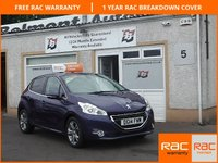USED 2014 14 PEUGEOT 208 1.4 ALLURE HDI 5d 68 BHP 1  Owner , 3 Service Stamps ,Bluetooth ,Toucscreen