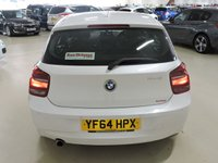 USED 2014 64 BMW 1 SERIES 1.6 116D EFFICIENTDYNAMICS 5d 114 BHP With Sat Nav