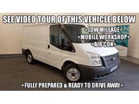 USED 2012 12 FORD TRANSIT 2.2 TDCi 300 S Panel Van 5dr (SWB) +LOW MILEAGE+WORKSHOP+AIR CON+