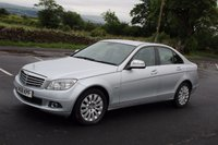 USED 2008 08 MERCEDES-BENZ C CLASS 2.1 C220 CDI ELEGANCE 4d AUTO 168 BHP