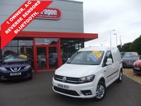 USED 2016 66 VOLKSWAGEN CADDY 2.0 C20 TDI HIGHLINE 1d 101 BHP A/C,ALLOYS,DAB