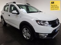 USED 2015 15 DACIA SANDERO 1.5 STEPWAY AMBIANCE DCI 5d 90 BHP HISTORY-1 OWNER-ISOFIX-ROOF RAILS