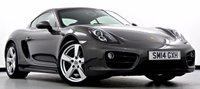 USED 2014 14 PORSCHE CAYMAN 2.7 981 PDK 2dr PCM Nav, BOSE, Heated Leather