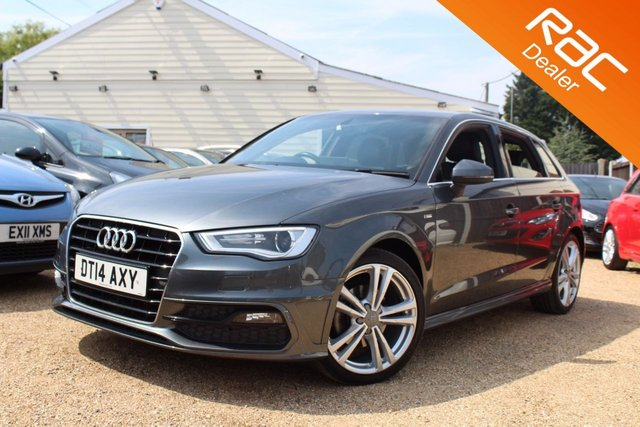 View our 2014 14 AUDI A3 2.0 TDI S LINE 5d 148 BHP