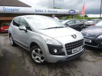 USED 2012 62 PEUGEOT 3008 1.6 ACTIVE E-HDI FAP 5d 112 BHP WE STRIVE FOR 94% FINANCE ACCEPTANCE